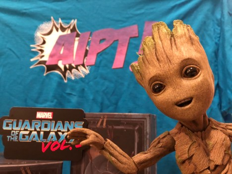 The detail on Groot is so high it might convince some he's really in your living room.