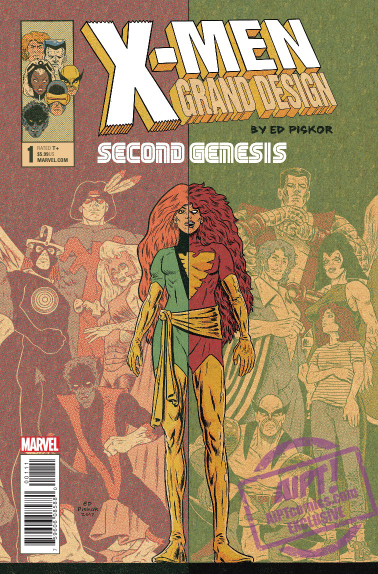 [EXCLUSIVE] Marvel Preview: X-Men: Grand Design - Second Genesis #1