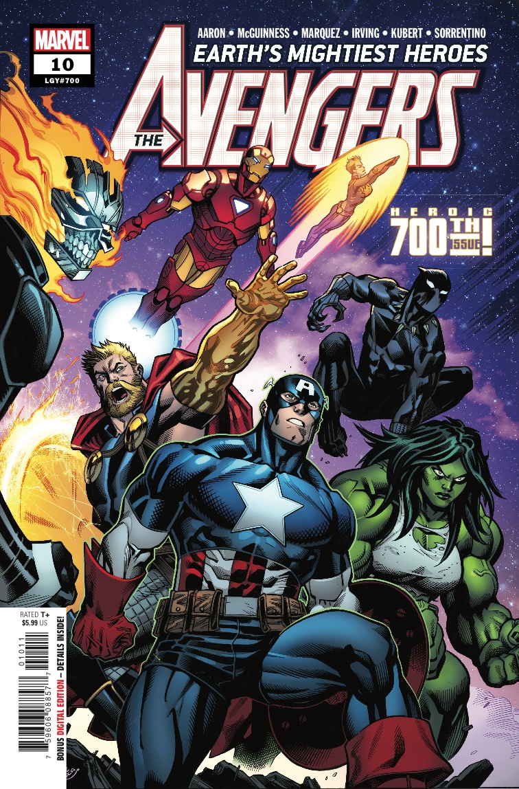 Avengers #700 advance review: Ups the ante in exciting ways