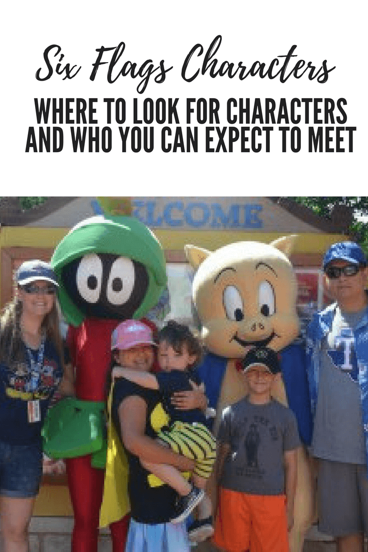 Looney tunes characters and dc super hero meet and greet six flags six flags characters where to look for characters and who you can expect to meet kristyandbryce Image collections