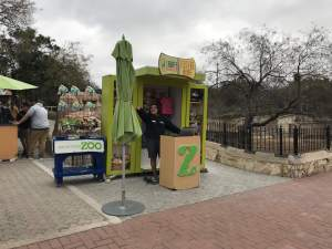 Check in here for the giraffe feeding here. Photos are included with the photo package at the San Antonio Zoo.