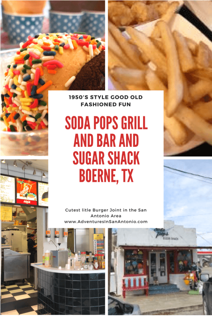 Soda Pops Grill and Bar and Sugar Shack Boerne Texas fun burger joint restaraunt 1950's style best restaurant