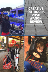 creative outdoors push wagon review great for big kids push pull stands on its own lots of storage