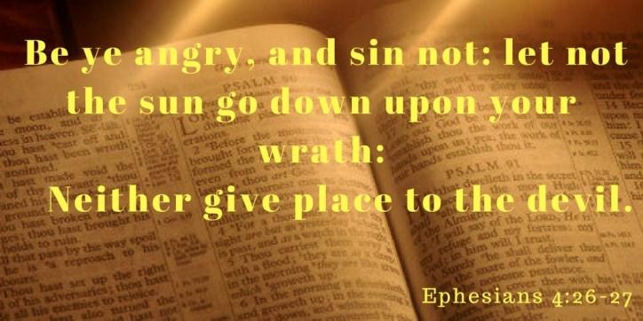 Four ways to handle anger. An Independent Baptist Sermon on anger|Irvington Bible Baptist Church