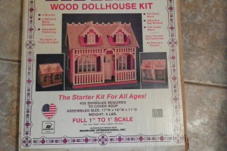 Victorian, dollhouse, DIY, creative, crafting, craft painting