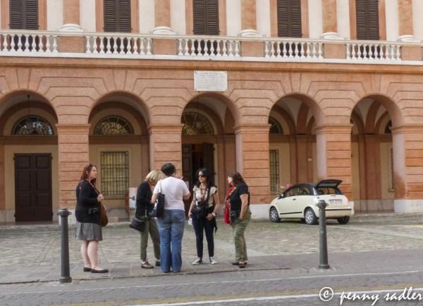 A Walk Around Cesena in Cesena, Italy. Teatro Bonci @PennySadler 2013