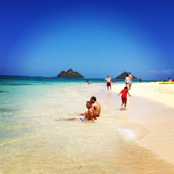 @Kate Voyage for 30 Traveler.com Lanikai beach