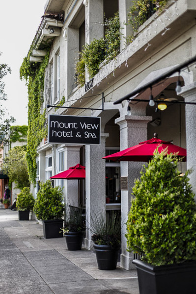 Wine and Wellness at the Mt.View Hotel and Spa in Calistoga