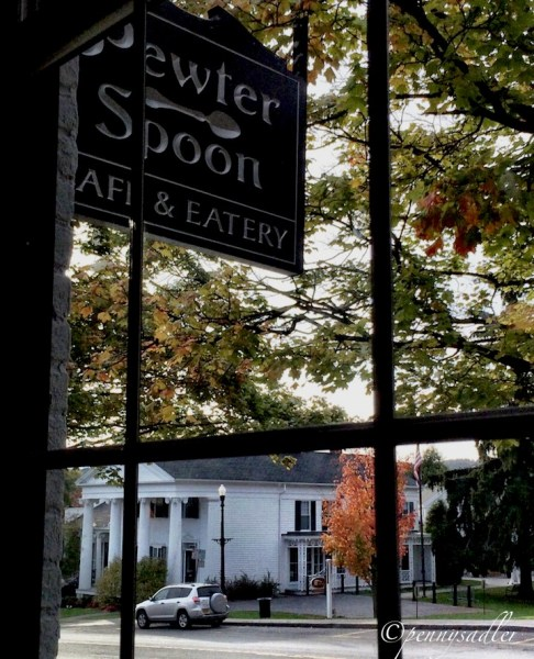 @PennySadler 2014 The Pewter Spoon, Cazenovia, New York
