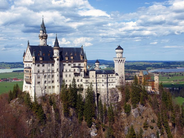 Neuschwanstein Castle, Germany, Photo courtesy of