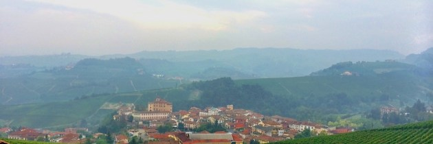 Postcard: Barolo Vineyards in Piemonte's Langhe Region