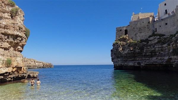 postcard Poligano a mare, Italy