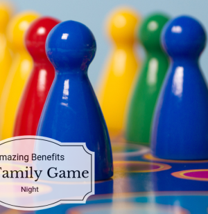 Not only is having a family game night lots of fun but did you know that it also has tons of benefits? Check out these benefits of family game night!