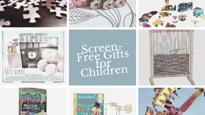 Looking for a way to separate the kids from the screens this year? Find the perfect gift with these screen-free gifts for children.