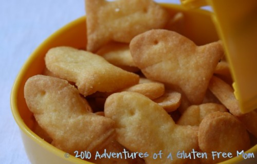 Gluten Free Goldfish Cracker Recipe