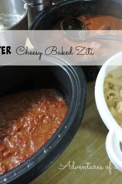 Nesco Roaster Oven Review and Cheese Baked Ziti Recipe