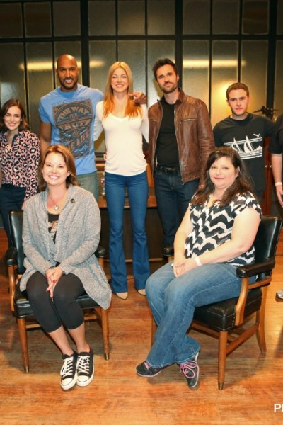 ABCTVEVENT Agents of Shield Cast Interview