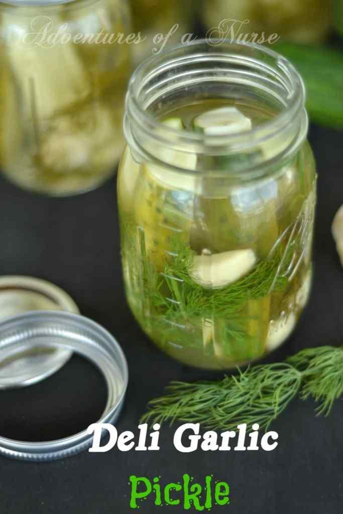Deli Garlic Pickle