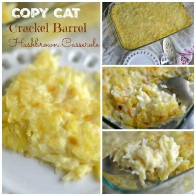 Copy Cat Cracker Barrel hashbrown Casserole