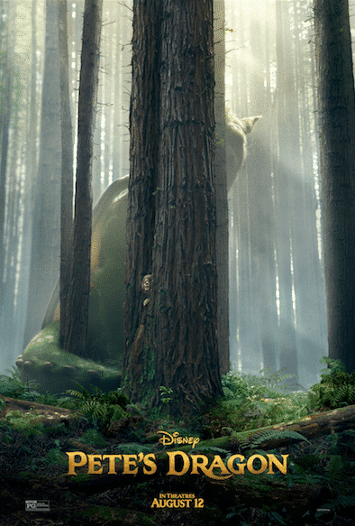 PETE'S DRAGON Brand new Poster