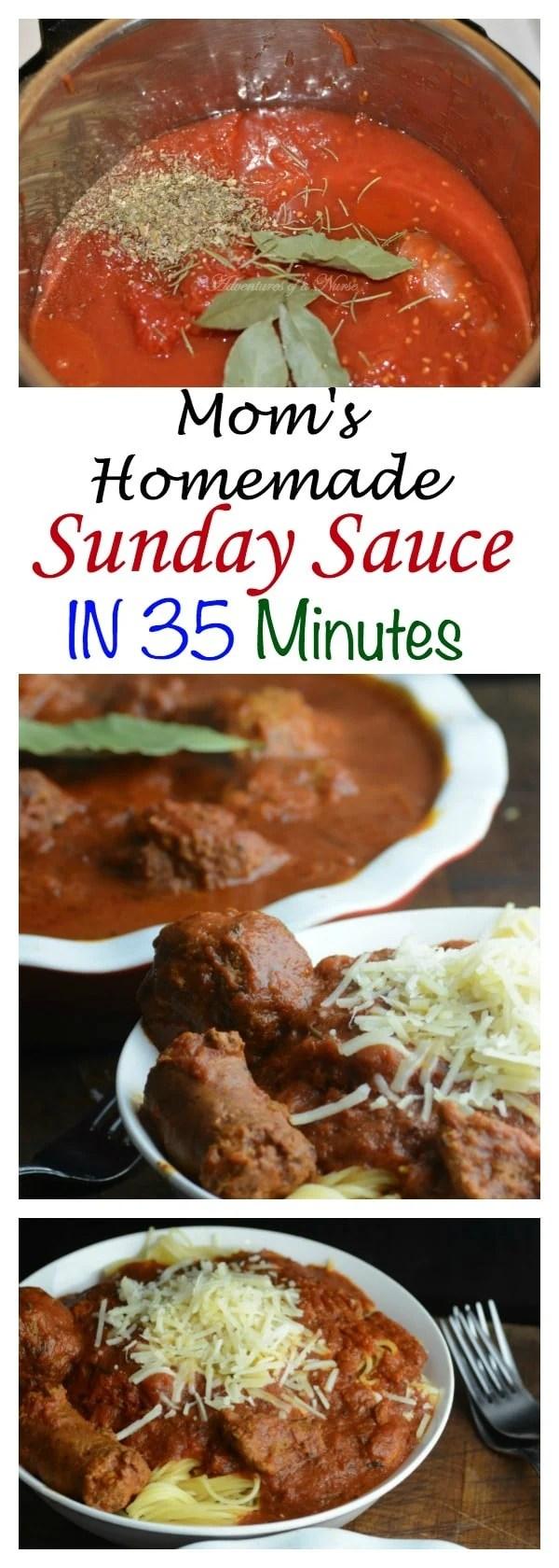 Homemade Sunday Sauce