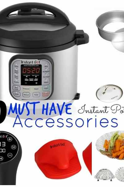 Top 10 MUST HAVE Instant Pot Accessories