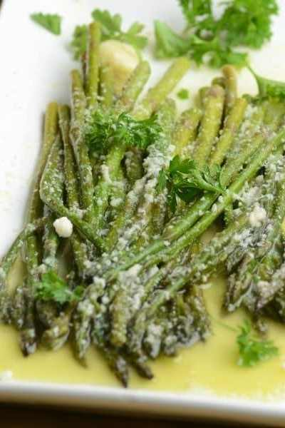 Garlic and Parm Instant Pot Asparagus