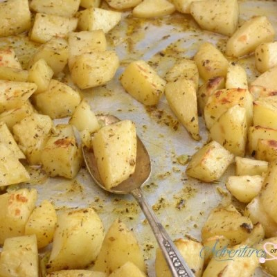 Sous Vide Garlic and Herb Roasted Potatoes