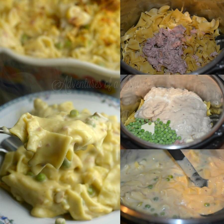 Instant Pot Cheesy Tuna Helper How to