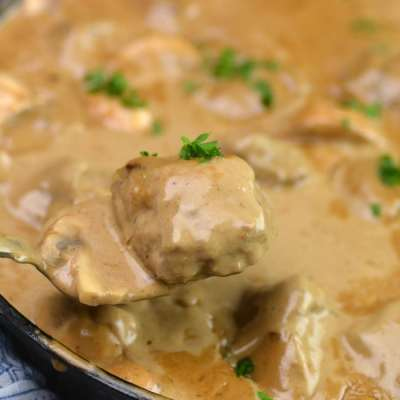 Oliso Smart Hub Sous Vide or Instant Pot Swedish Meatballs