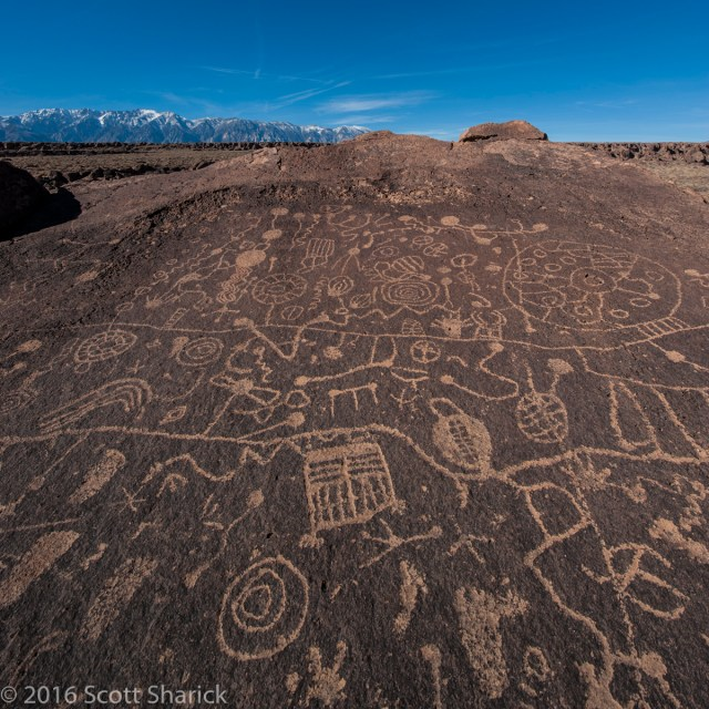 The petroglyphs on Sky Rock. It took me two years of searching to find this.