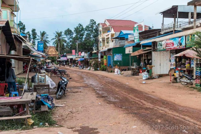Tani, Cambodia. A quiet little town.