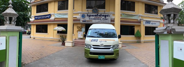 Post Office, Cambodia, Van Sim Reap, Phnom Penh