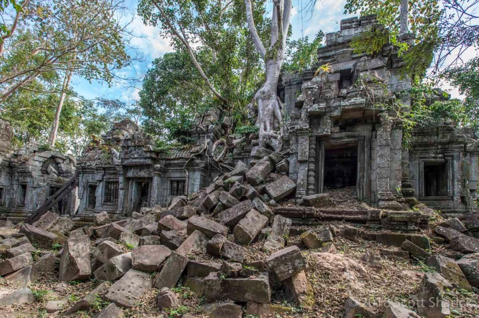 Banteay Ampil Temple in Cambodia