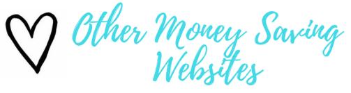 Money Saving Websites