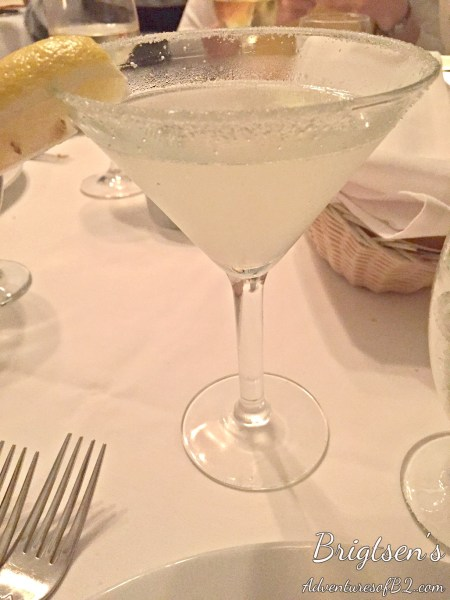 Alcoholic beverage from Brigtsens during New Orleans COOLinary experience. A great event in New Orleans to do as a couple or with friends.