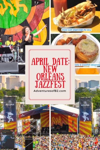 New Orleans and jazz go hand in hand but jazziest is unlike anything else. #jazz #musicfestivals #dateideas #jazzfest #neworleans