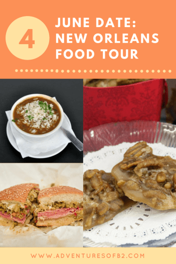 Taste all the top foods here in New Orleans on a food tour. This walking tour will take you to some of the top restaurants and stores in New Orleans to experience all of what New Orleans has to offer.