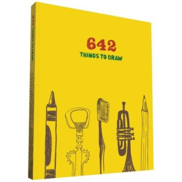 Have an aspiring artist in the family? Get them this book: 642 things to draw! A great way to get those creative juices flowing and bringing out the artist in them. For more amazing christmas gift ideas, visit : adventuresofb2.com