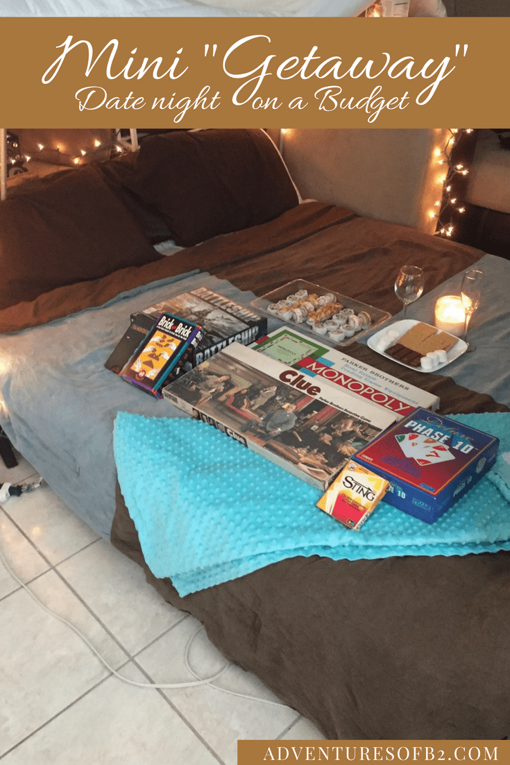 "Mini ""Getaway"" In Your Own Home 