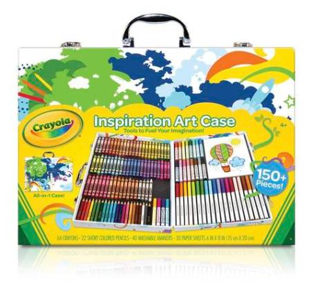 Looking for great gifts for kids. Try crayola inspiration art case for all those inspiring artists out there. For more unique gifts for kids, visit adventuresofb2.com