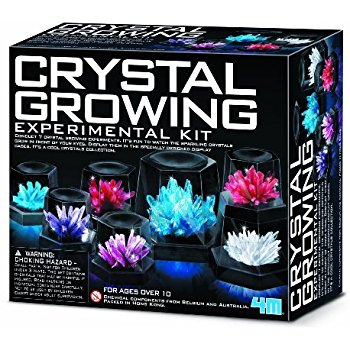 DIY growing crystals