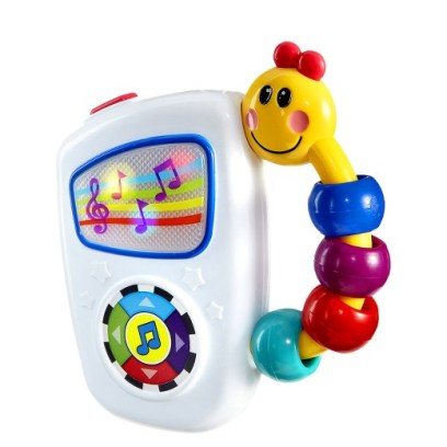 Let your infant explore the lights, sounds and music from this musical toy! For more christmas gifts for infants, visit adventuresofb2.com