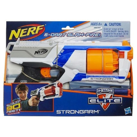 nerf gun is full of action packed fun! Let the kids run wild in the yard while playing with the n-strike elite. For more amazing christmas gifts for kids , visit adventuresofb2.com