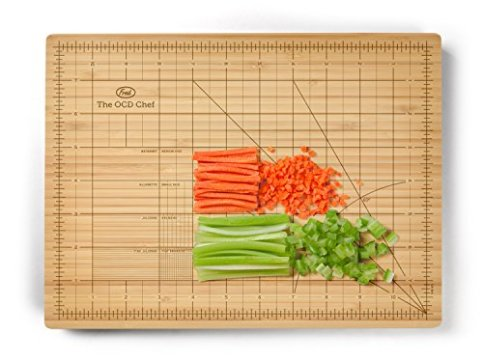 Have any ocd friends, get them the perfect gift when cooking. This ocd cutting board make everything easier for those perfectionists out there. For more unique gifts, go to adventuresofb2.com