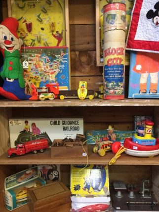 antique toys and games