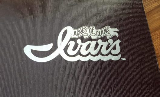 Ivar's acres of clams menu