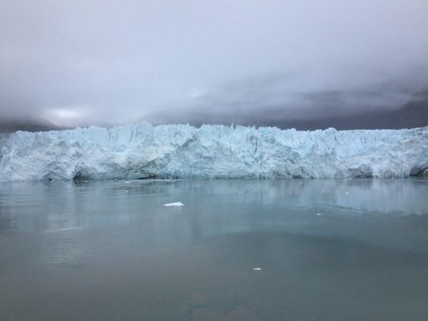 glaciers in glacier bay