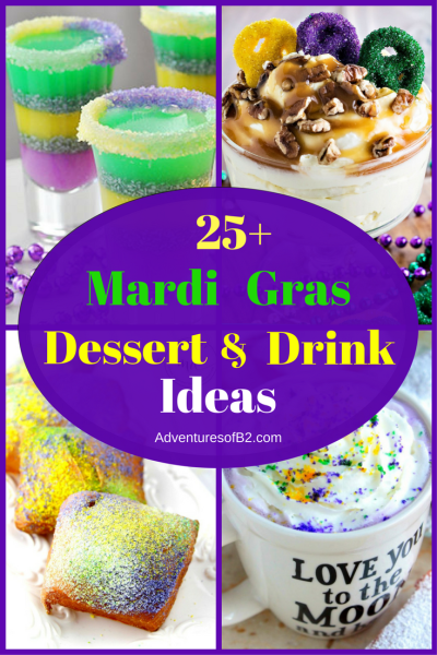 25 mardi gras dessert and drink ideas for your next party