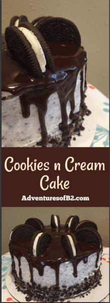 Here is a fantastic recipe for a cookies n cream drip cake that is just the right amount of chocolate and vanilla mixed together. Perfect for any party